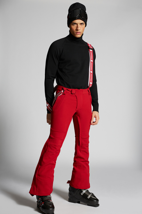 DSQUARED2 Men Pants Red Size 30 70% Polyamide 26% Polyester 4% Elastane