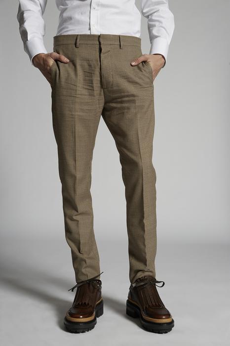 DSQUARED2 Men Pants Sand Size 28 70% Polyester 30% Viscose
