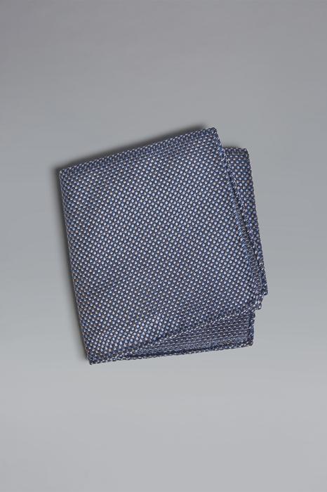 DSQUARED2 Men Pocket square Azure Size OneSize 100% Silk