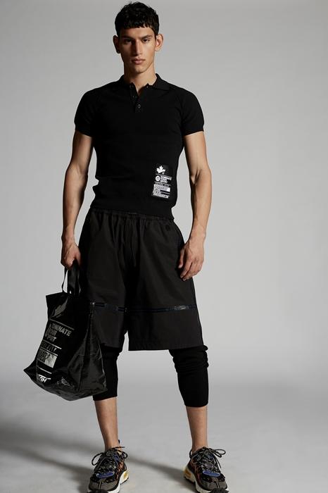 DSQUARED2 Men Pullover Black Size XXL 59% Viscose 41% Polyester