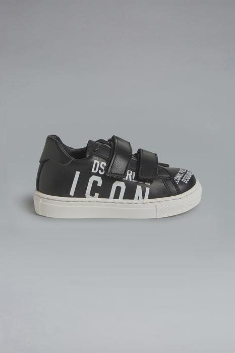 DSQUARED2 Men Sneaker Black Size 7C 100% Calfskin
