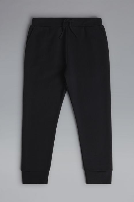 DSQUARED2 Men Sweat pants Black Size 12 100% Cotton