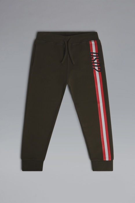 DSQUARED2 Men Sweat pants Military green Size 8 100% Cotton