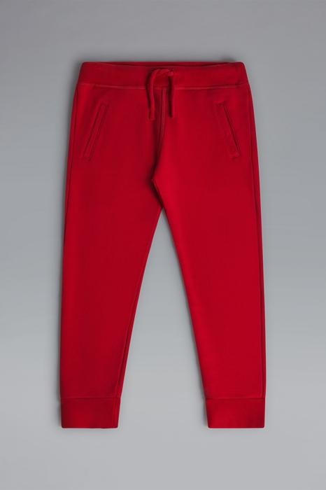 DSQUARED2 Men Sweat pants Red Size 10 100% Cotton