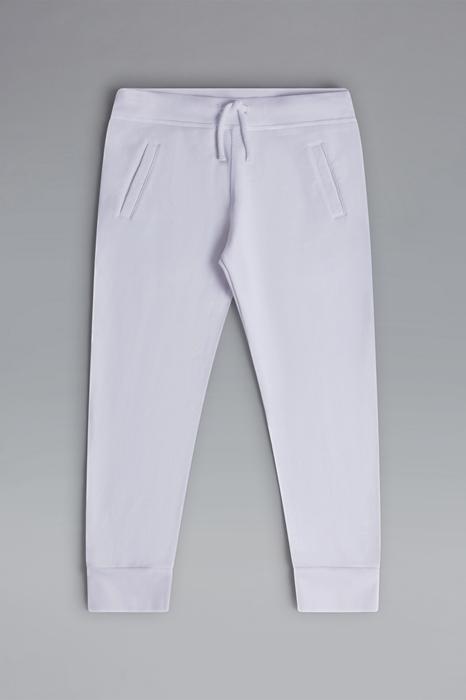 DSQUARED2 Men Sweat pants White Size 10 100% Cotton