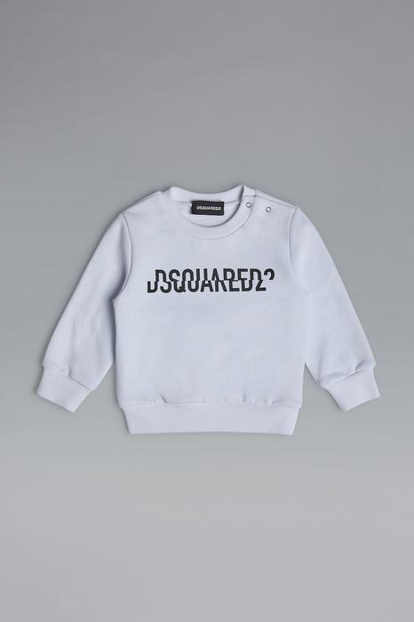DSQUARED2 Men Sweatshirt White Size 9-12 100% Cotton