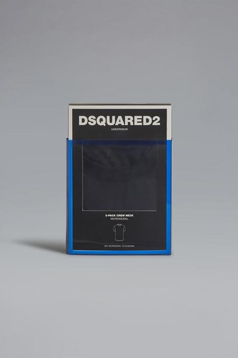 DSQUARED2 Men T-shirt Black Size M 94% Modacrylic 6% Elastane