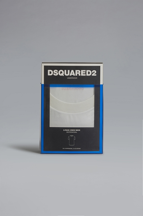 DSQUARED2 Men T-shirt White Size 3XL 94% Modacrylic 6% Elastane