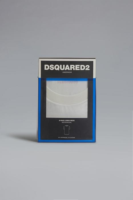 DSQUARED2 Men T-shirt White Size L 94% Modacrylic 6% Elastane