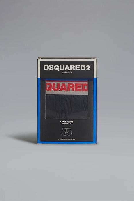DSQUARED2 Men Twinpack trunk Black Size XS 94% Modacrylic 6% Elastane