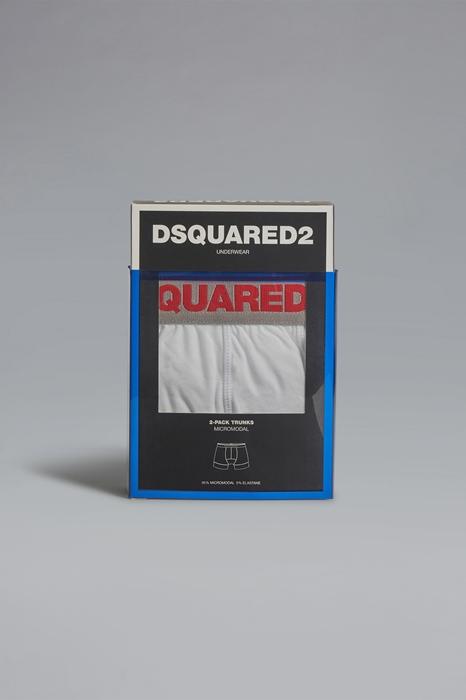 DSQUARED2 Men Twinpack trunk Ivory Size M 94% Modacrylic 6% Elastane
