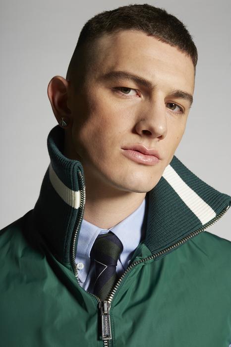 DSQUARED2 Men Vest Green Size 44 100% Polyester