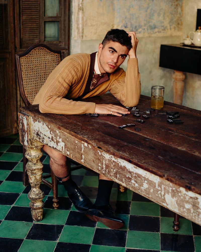 Homecoming: Diego Takes to Yucatán for GQ Russia