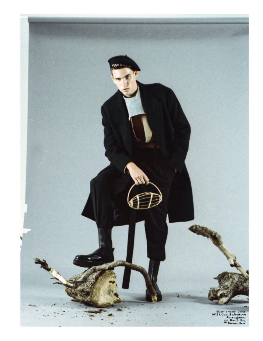 On a High Note: Federico Rocks Bold Looks for L'Officiel Malaysia