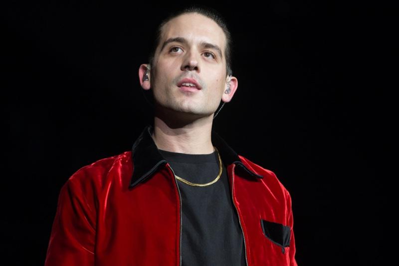 G-Eazy Rapper Red Jacket