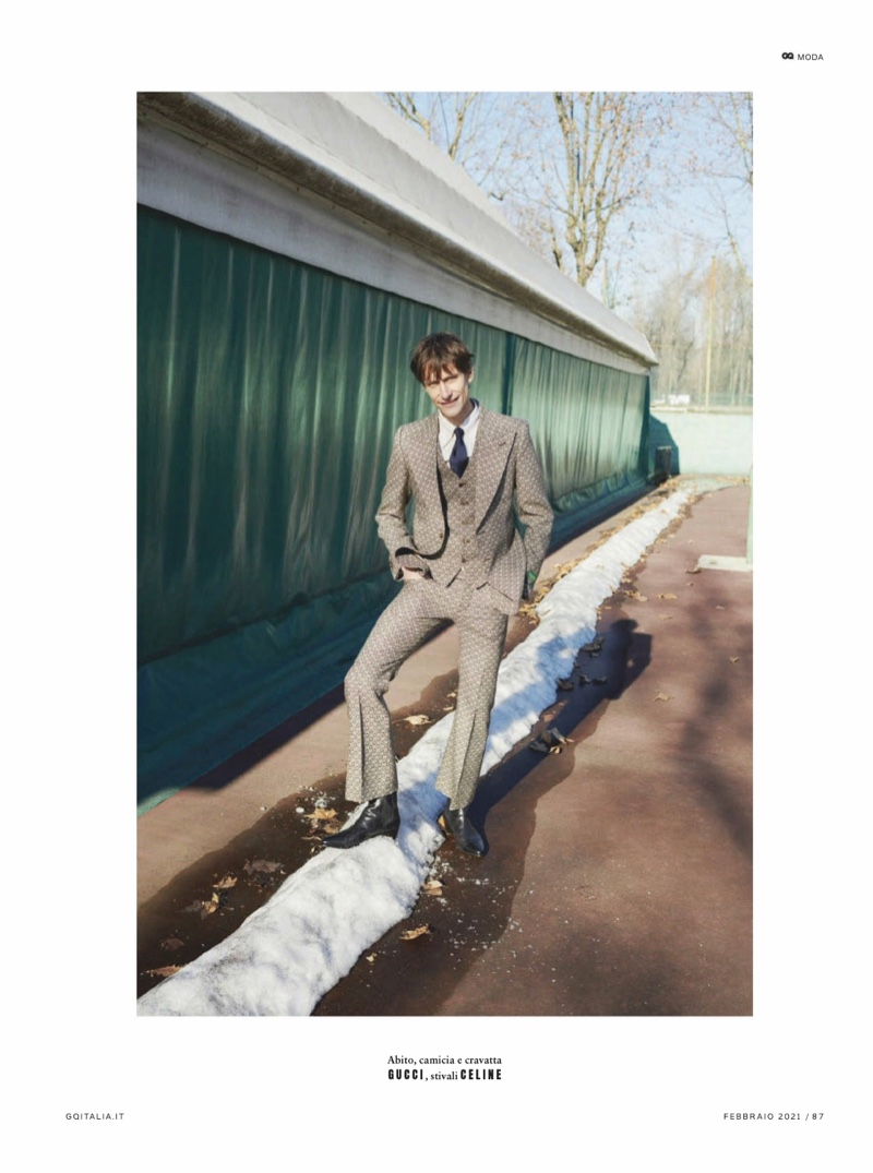 Thilo & Freddy 'Rock the Suit' for GQ Italia