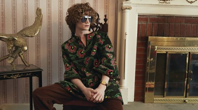 Huxley & Zachary Rock Gucci for Modern Luxury