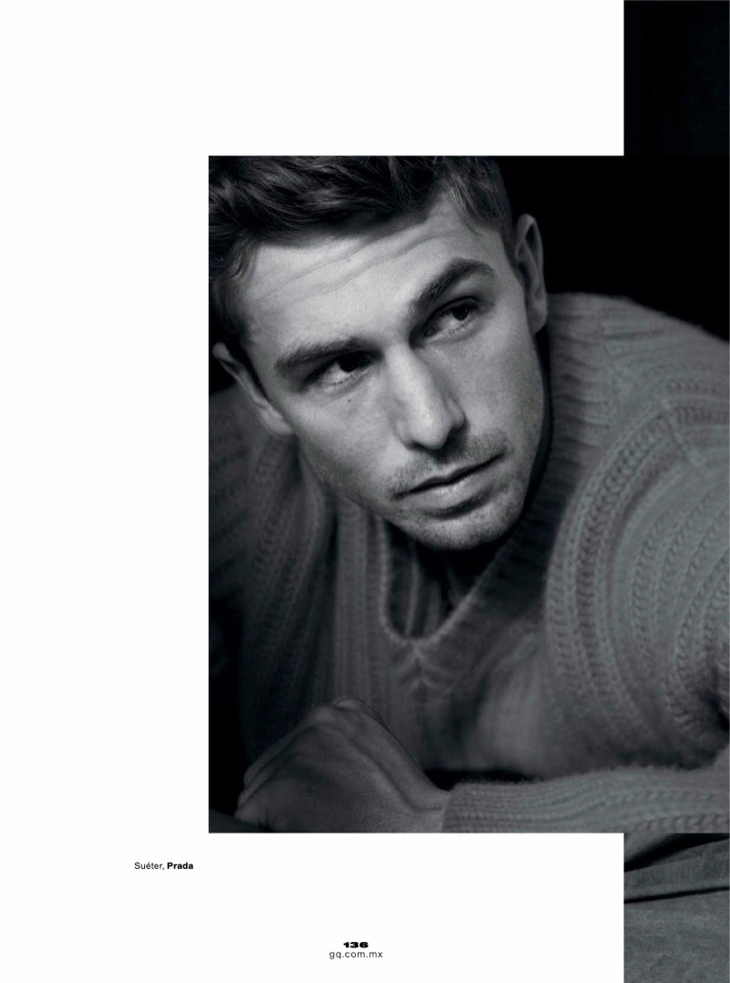 James Yates is Off to a Good Start for GQ México
