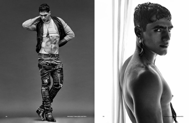 Jhonattan Rocks Dsquared2 for Man About Town