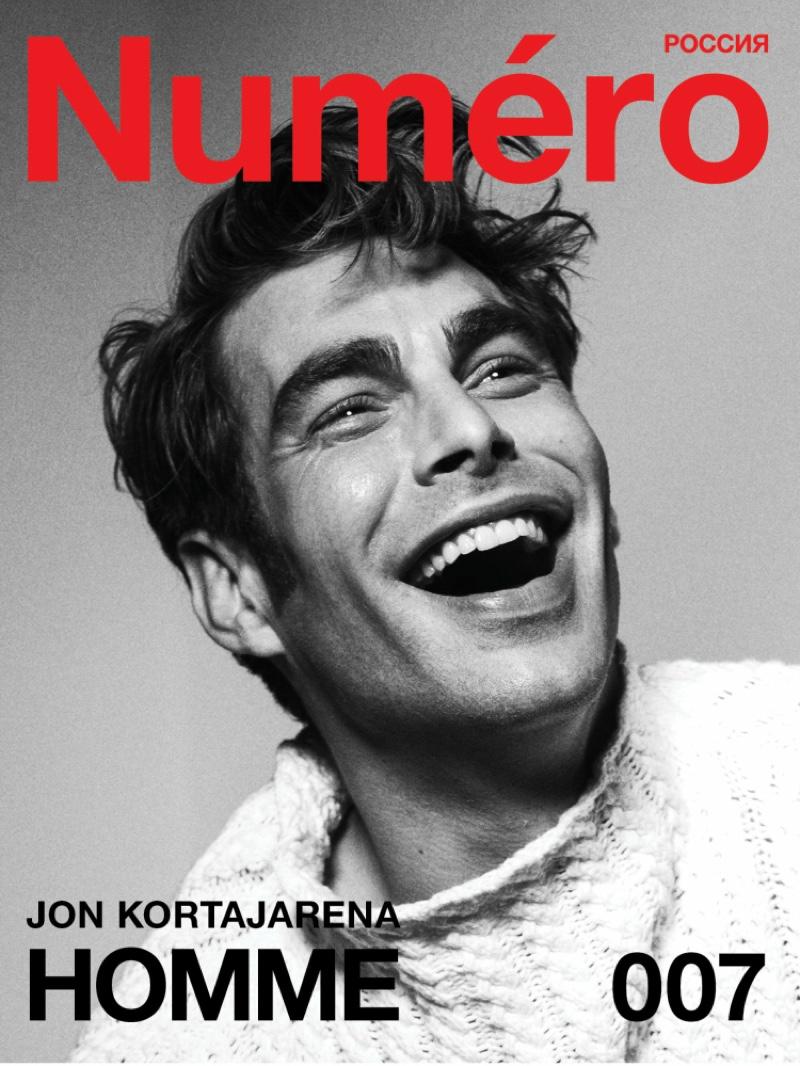 Jon Kortajarena is All Smiles for Numéro Russia