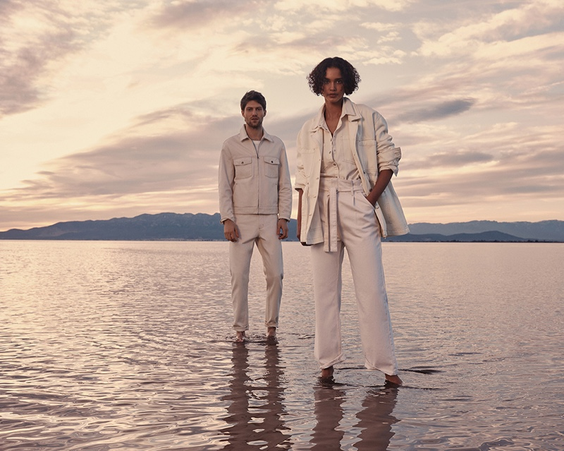 Boyd Embraces Relaxed Denim Style in Mango Campaign