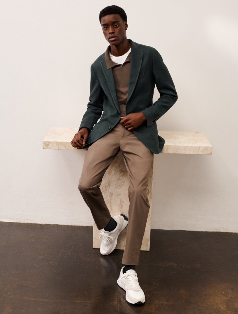 Composition: Kit & Babacar Don New Massimo Dutti Collection