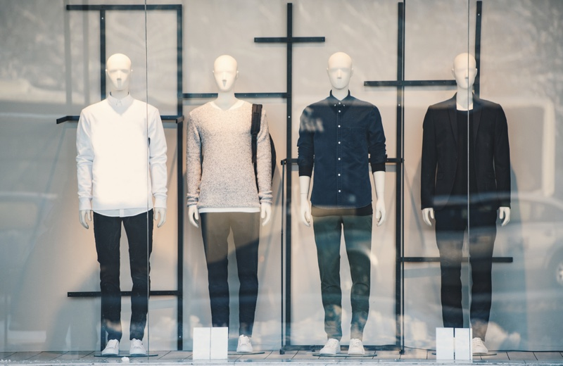 Men's Clothing Store Mannequins
