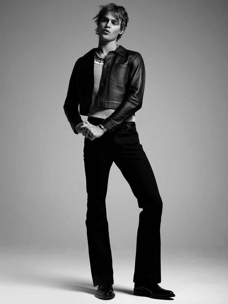 Parker Tackles Modern Bohemian Style for VMAN