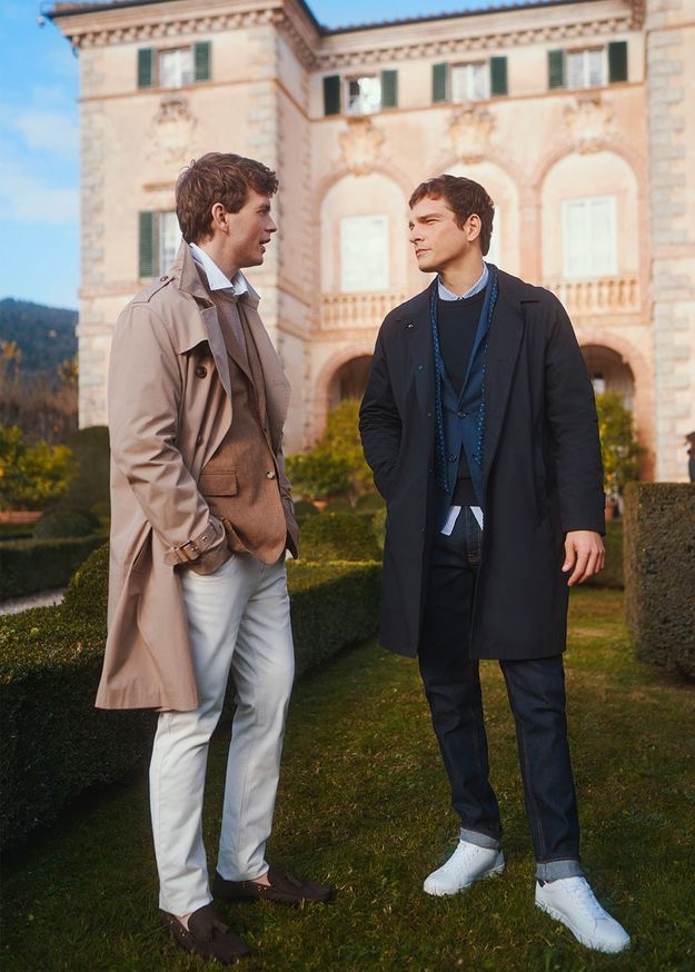 Alexandre & Benjamin Don 'Soft Formal' Style for OVS Piombo Spring Campaign