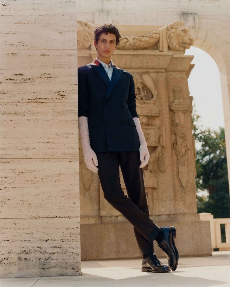 Strong Suit: Takfarines Travels to Rome for GQ Middle East
