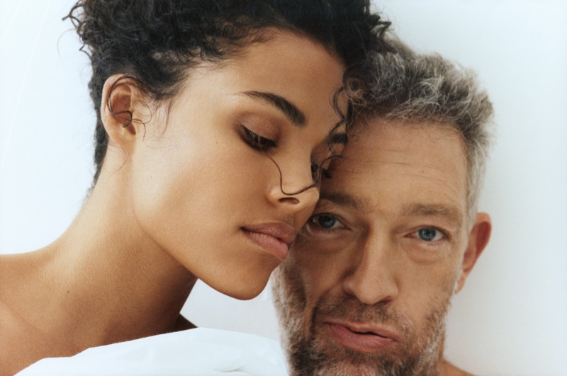 The Kooples enlists Tina Kunakey and Vincent Cassel as the stars of its spring-summer 2021 campaign.