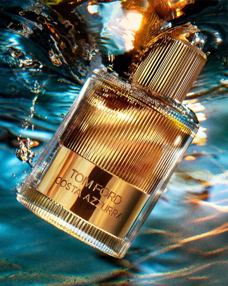 Campaign image for Tom Ford Costa Azzurra Fragrance