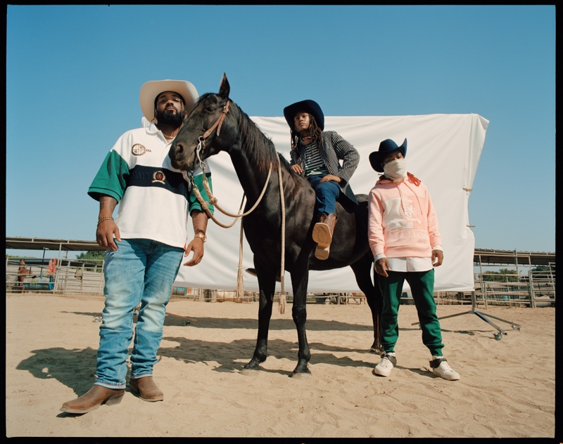 Compton Cowboys star in Tommy Hilfiger's spring 2021 campaign.