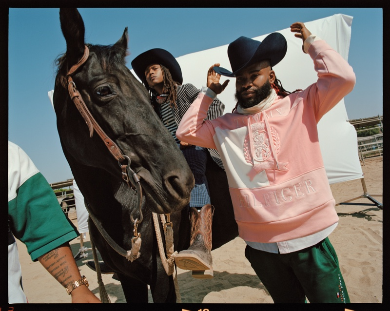 Compton Cowboys, Tom Grennan & Kiddy Smile Front Tommy Hilfiger Campaign