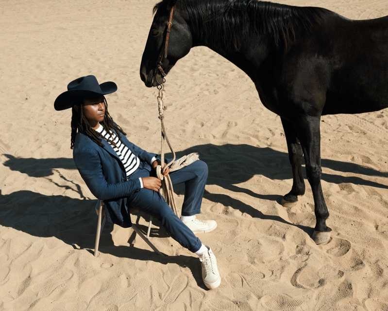 Tommy Hilfiger features the Compton Cowboys as part of its spring 2021 campaign.
