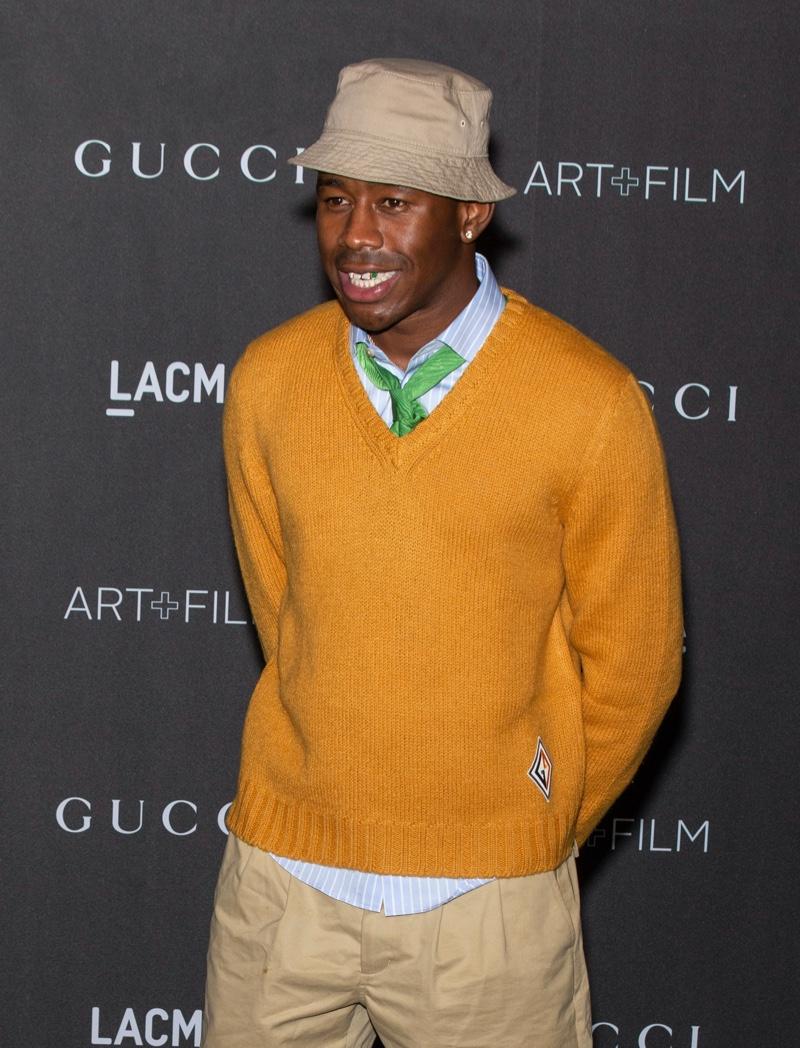 Tyler Creator Gucci Event