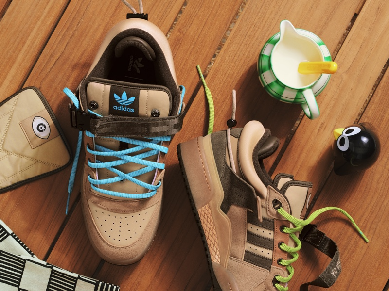 Bad Bunny Begins Adidas Collaboration