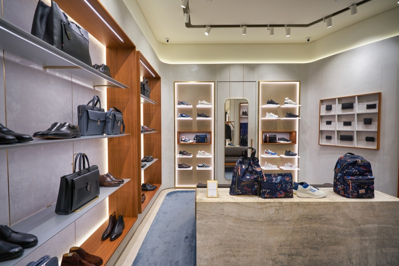 Bally Store Interior Mens