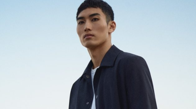 Do Byungwook stars in COS's spring-summer 2021 men's campaign.
