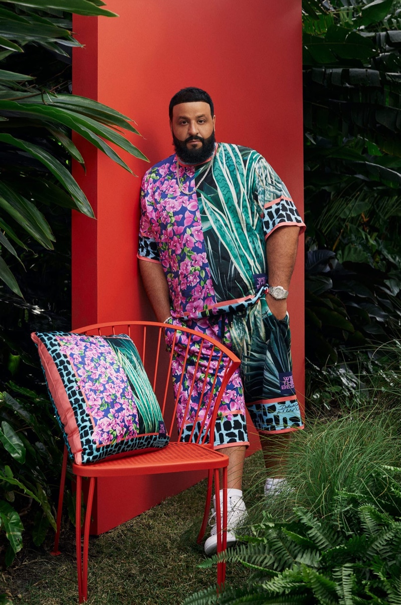 Making a splash, DJ Khaled brings Miami style to Dolce & Gabbana with a collaboration.