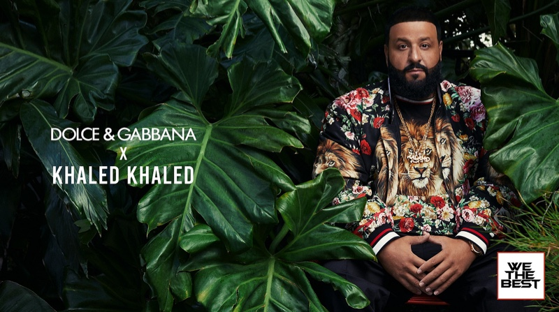 DJ Khaled collaborates with Dolce & Gabbana for a special Miami-inspired collection.