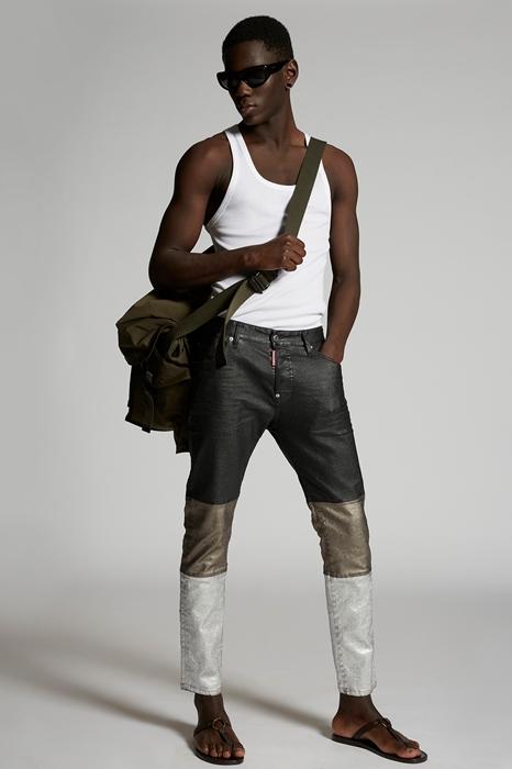 DSQUARED2 Men 5 pockets Blue Size 34 98% Cotton 2% Elastane