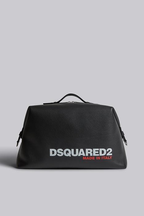 DSQUARED2 Men Duffle Black Size OneSize 100% Calfskin