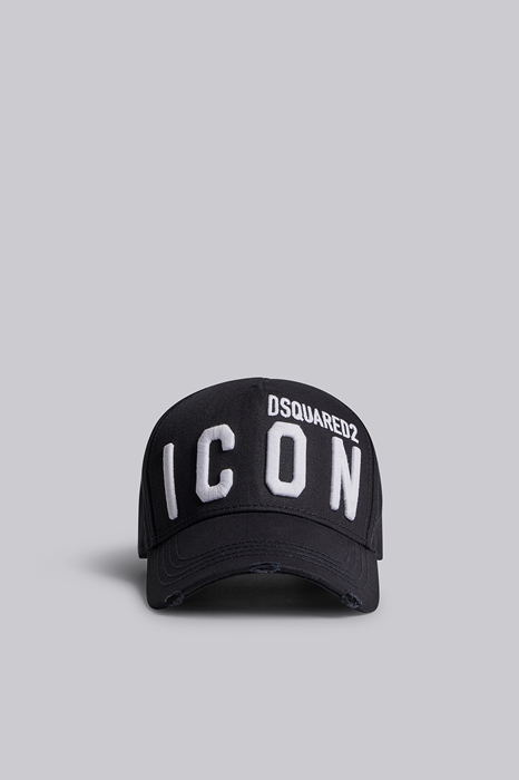 DSQUARED2 Men Hat Black Size OneSize 100% Cotton