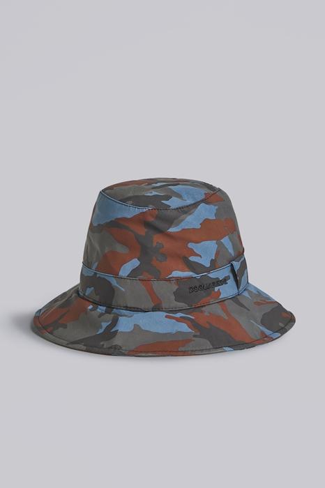 DSQUARED2 Men Hat Slate blue Size S 100% Polyester