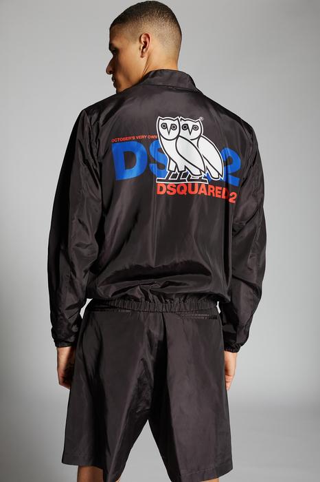 DSQUARED2 Men Kaban Multicoloured Size 36 100% Polyester