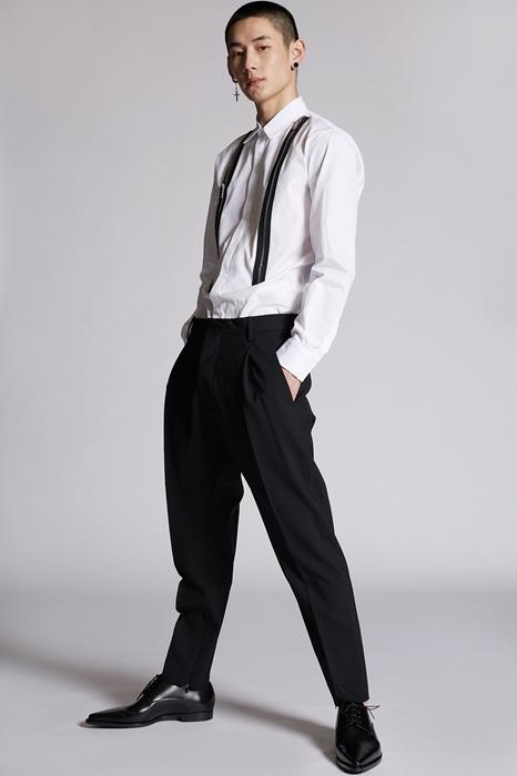 DSQUARED2 Men Pants Black Size 30 95% Virgin Wool 5% Elastane