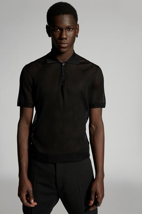 DSQUARED2 Men Pullover Black Size L 87% Viscose 12% Polyamide 1% Elastane