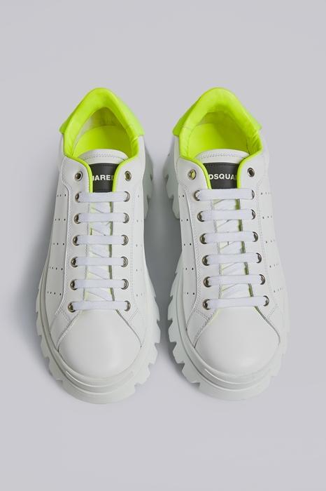 DSQUARED2 Men Sneaker White Size 11 100% Calfskin