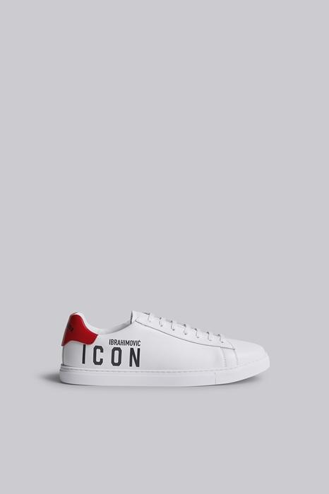 DSQUARED2 Men Sneaker White Size 9 100% Calfskin